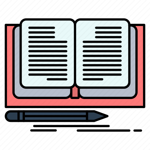 Book, novel, story, writing icon - Download on Iconfinder