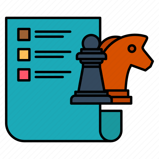 Business, chess, planning, strategy icon - Download on Iconfinder