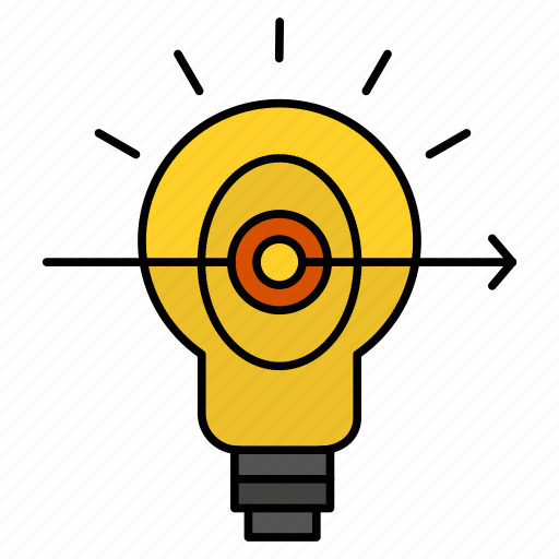 Bulb, business, focus, success icon - Download on Iconfinder
