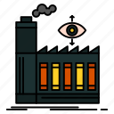 business, factory, mill, smoke icon