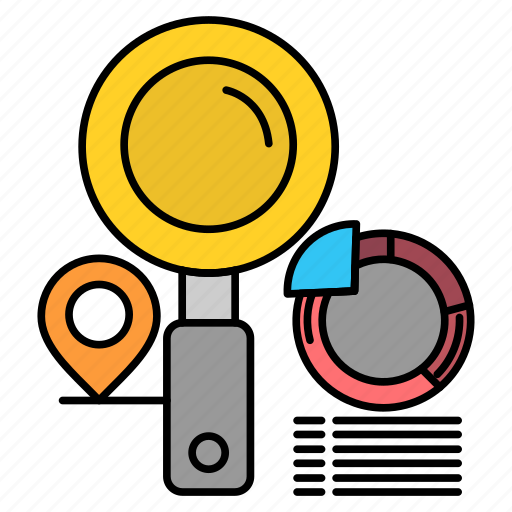 Finder, graph, location, search icon - Download on Iconfinder