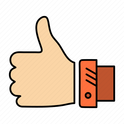 Business, finger, hand, like, solution, thumbs icon - Download on Iconfinder