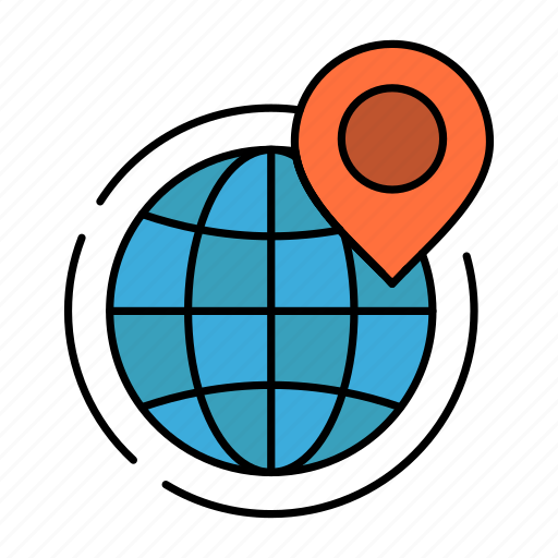 Business, global, globe, office, point, world icon - Download on Iconfinder