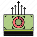 bucks, bundle, money, transfer icon