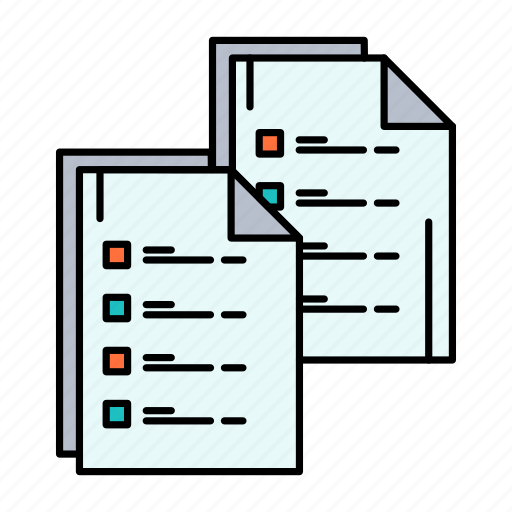 Analytics, copy, data, document, paper, resume icon - Download on Iconfinder