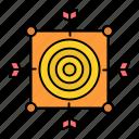 arrow, board, dart, focus, target