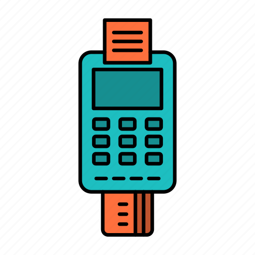 Business, card, check, credit, machine, payment icon - Download on Iconfinder