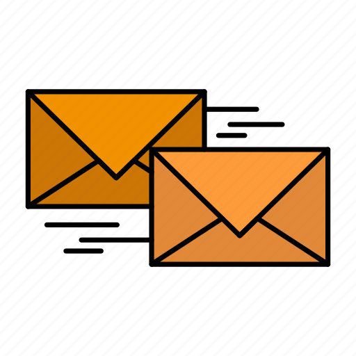 business, correspondence, forward, letter, mail, reply icon