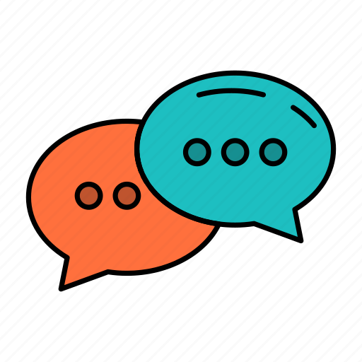 Chat, chatting, conversation, dialogue icon - Download on Iconfinder