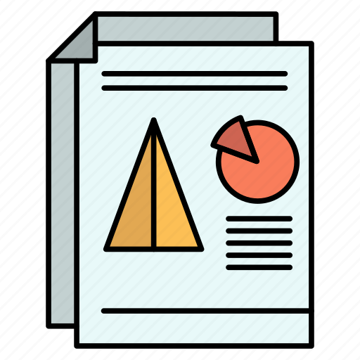 business, chart, pie, presentation, report icon