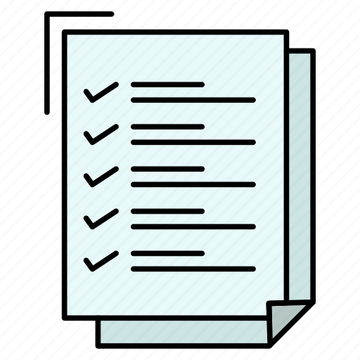 check, do, list, notepad, task, to, work icon