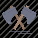 axe, cutter, hatchet, tool, viking