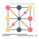 app, cluster, complex, data, framework icon