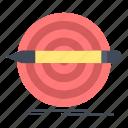 design, goal, pencil, set, target icon