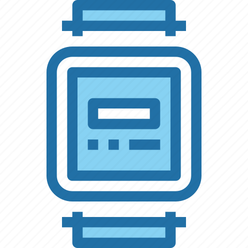 device, smart, technology, time, timer, watch icon