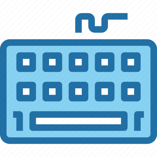 computer, device, hardware, keyboard, technology icon