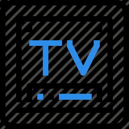 computer, device, hardware, media, movie, smart, technology, tv icon