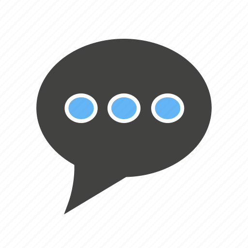 chat, communicate, message, sms, talk, type, typing icon