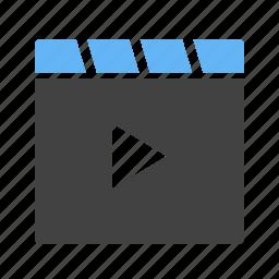 camera, equipment, film, media, player, recorder, video icon