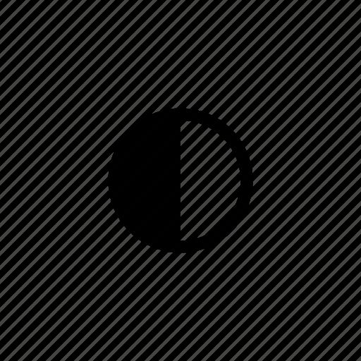 camera, contrast, device, option icon
