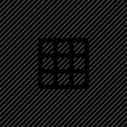 camera, device, grid, option icon