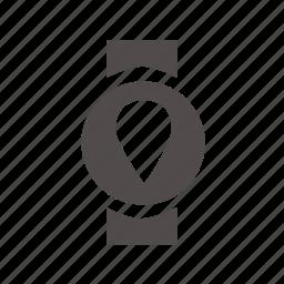 globe, gps, location, map, pin, pointer icon