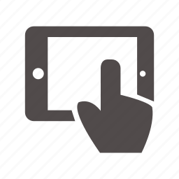 desktop, go, screen, technology, touch, touch pad, tv icon