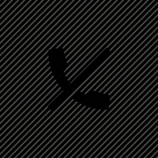 device, forbidden, none, telephone icon