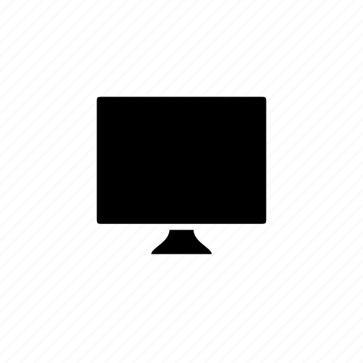 blank, computer, device, screen icon