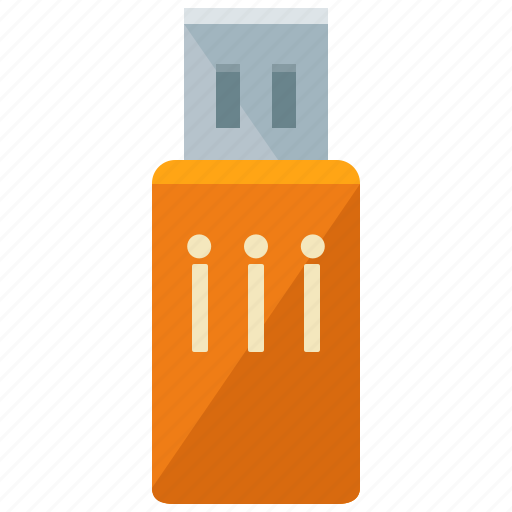 data, device, drive, flash, stick, storage, usb icon