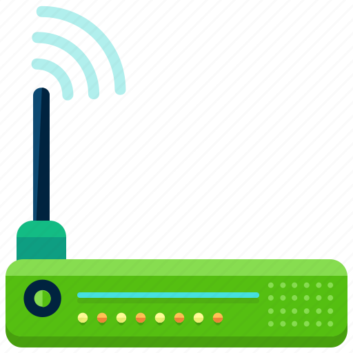 devices, internet, modem, network, wifi, wireless icon