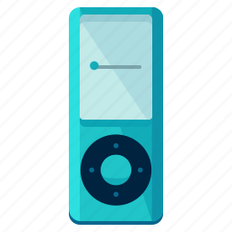 devices, media, mp3, multimedia, music, player, sound icon