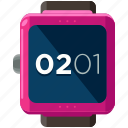 clock, device, smart, time, watch icon