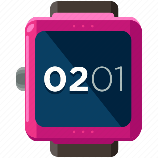 Smart, watch, clock, device, time icon - Download on Iconfinder