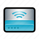 connection, hub, internet, network, router, wi-fi, wireless icon