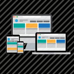 adaptive, development, devices, responsive, site icon