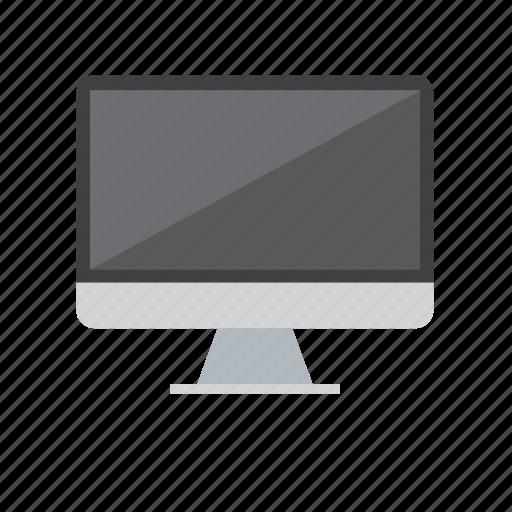 computer, mac, screen, shadow icon