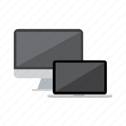computer, devices, laptop, mac, macbook, macs icon