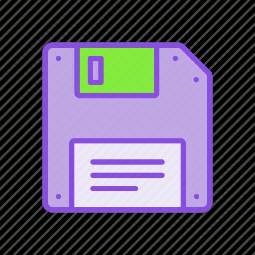 data, disk, diskette, drive, floppy, information, storage icon