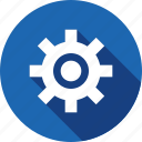 gare, setting, tool icon