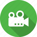 camera, film, media, record, video icon