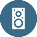 audio, electronics, music, sound, speaker icon