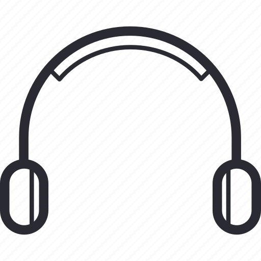 audio, communication, earphone, hardware, headphone, headset, listen icon