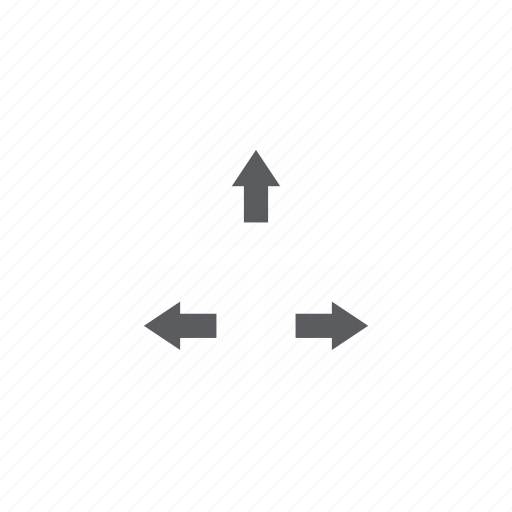 arrows, key icon