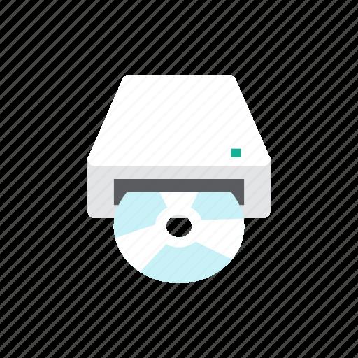 cd, drive icon