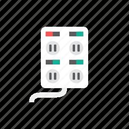 plug, socket icon