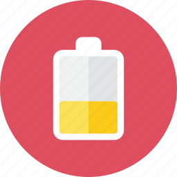 battery, medium icon