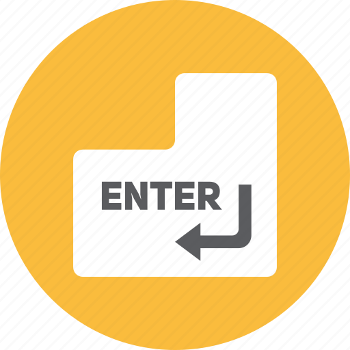 Enter, key icon - Download on Iconfinder on Iconfinder