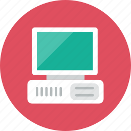 computer, old icon