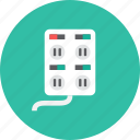 plug, socket icon